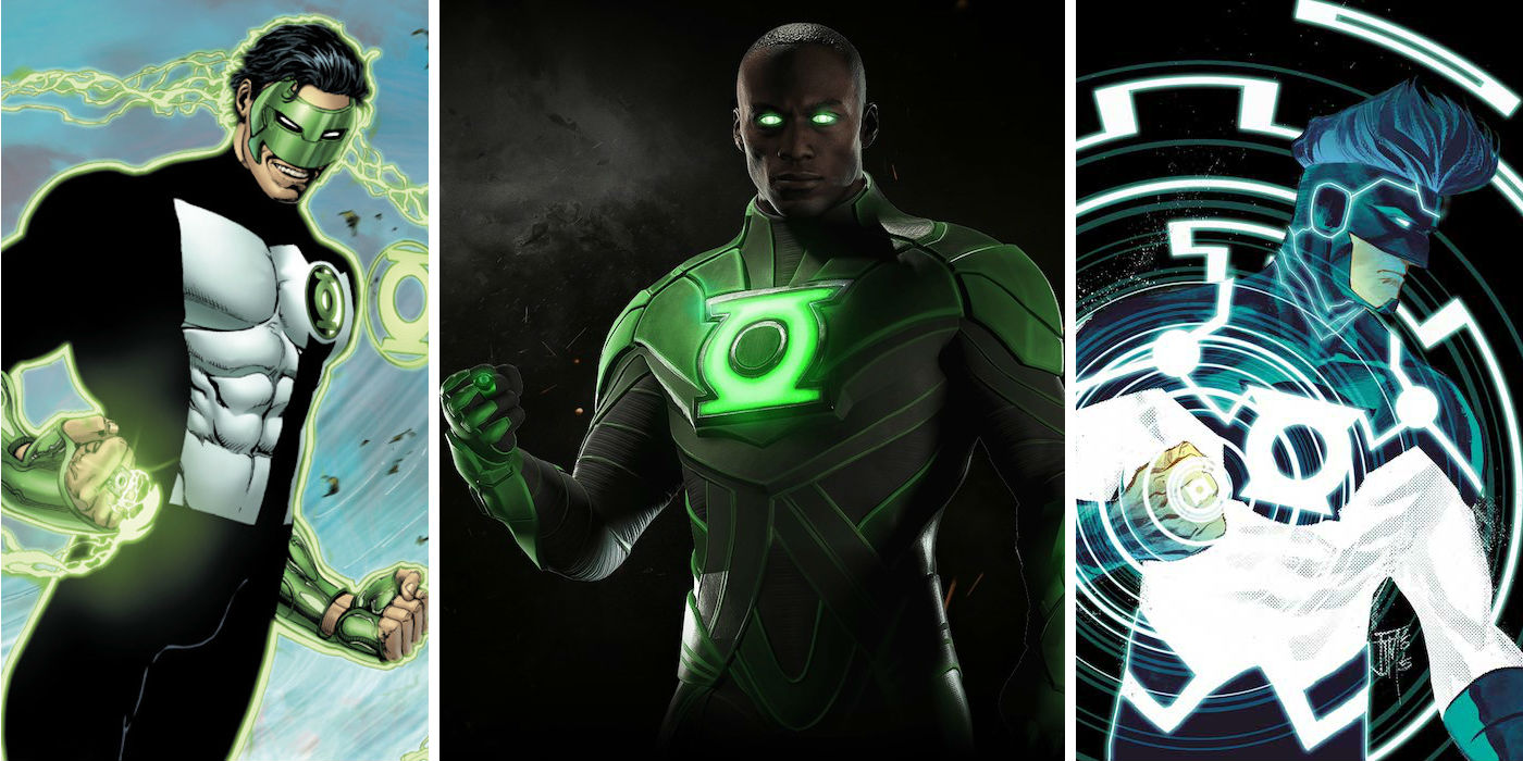 The 10 Greatest Green Lantern Uniforms And 10 That Are Total Duds