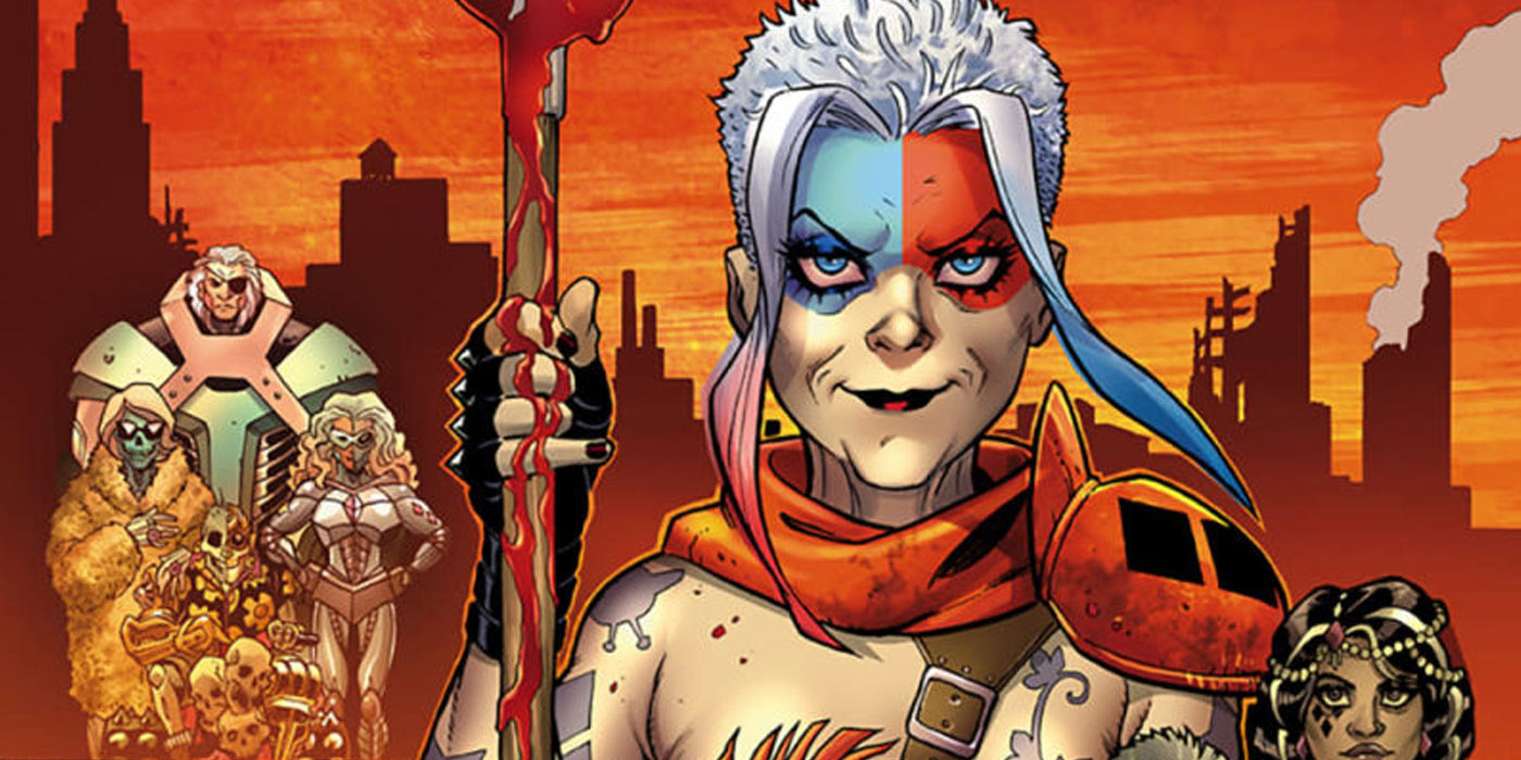 EXCLUSIVE: Harley Quinn #42 is a Vision of the Future With Old Lady Harley