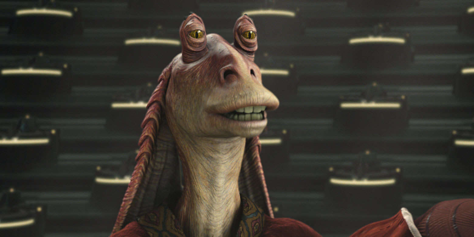 Simon Pegg Feels 'Awful' For His Negative Comments About Jar Jar Binks