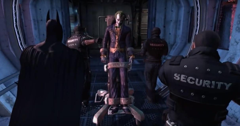 Batman Arkham City Joker intro