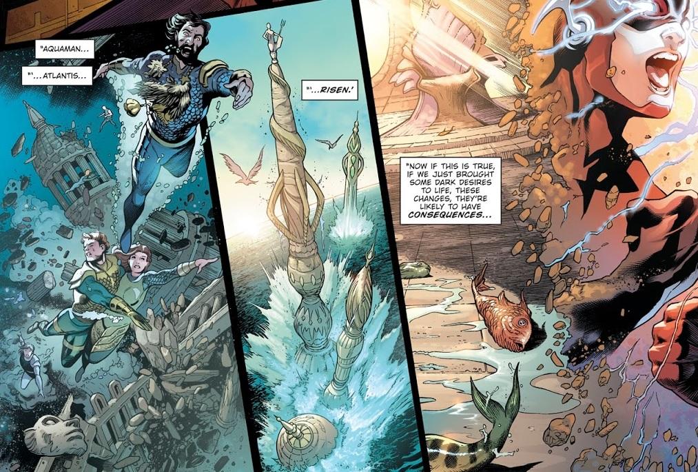 Dark Nights Metal Atlantis future
