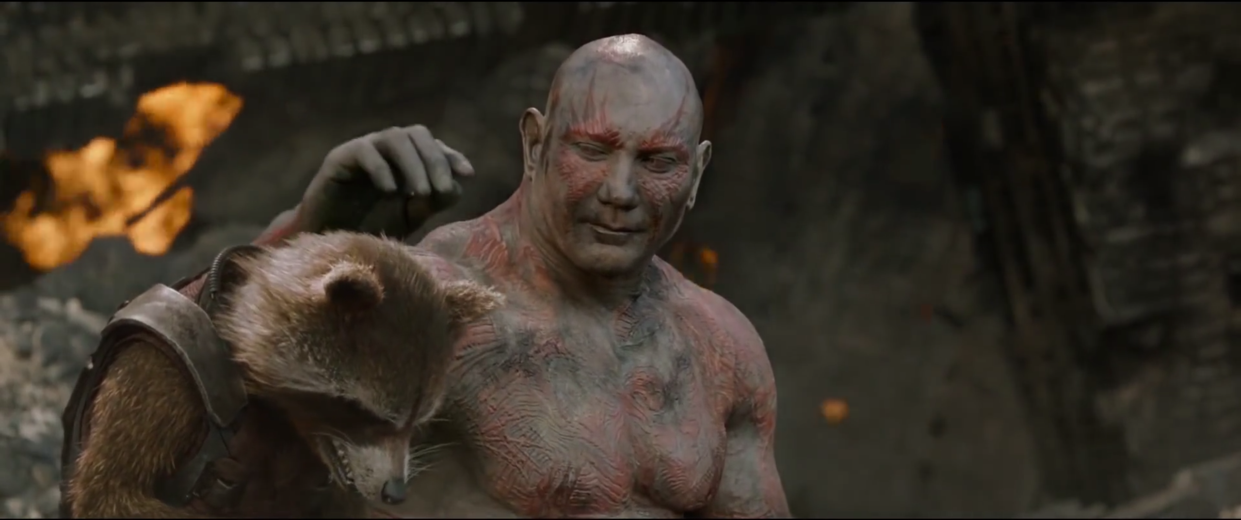 Image result for sad drax