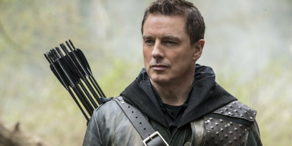 Malcolm Merlyn in Arrow