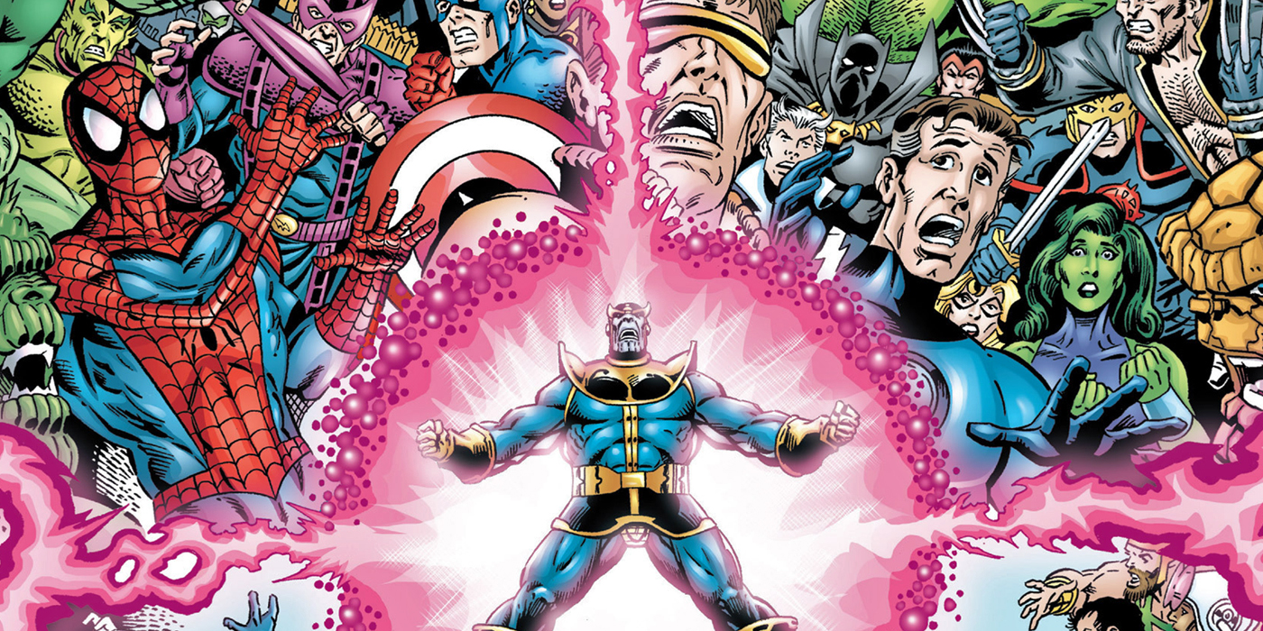 Marvel Universe The End Thanos
