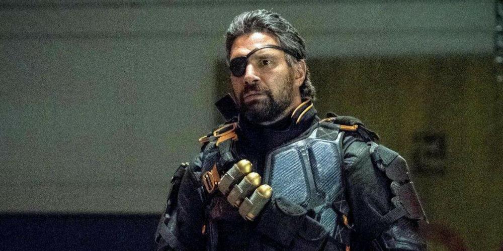 Slade Wilson in Arrow