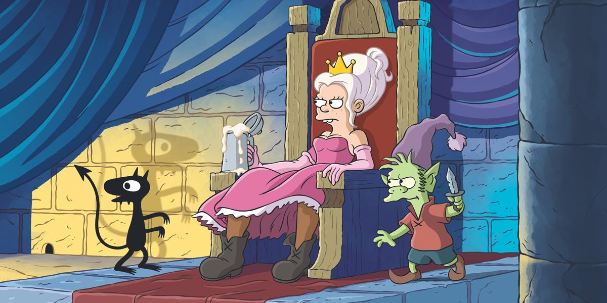 First Look At Matt Groening's Netflix Cartoon Disenchantment