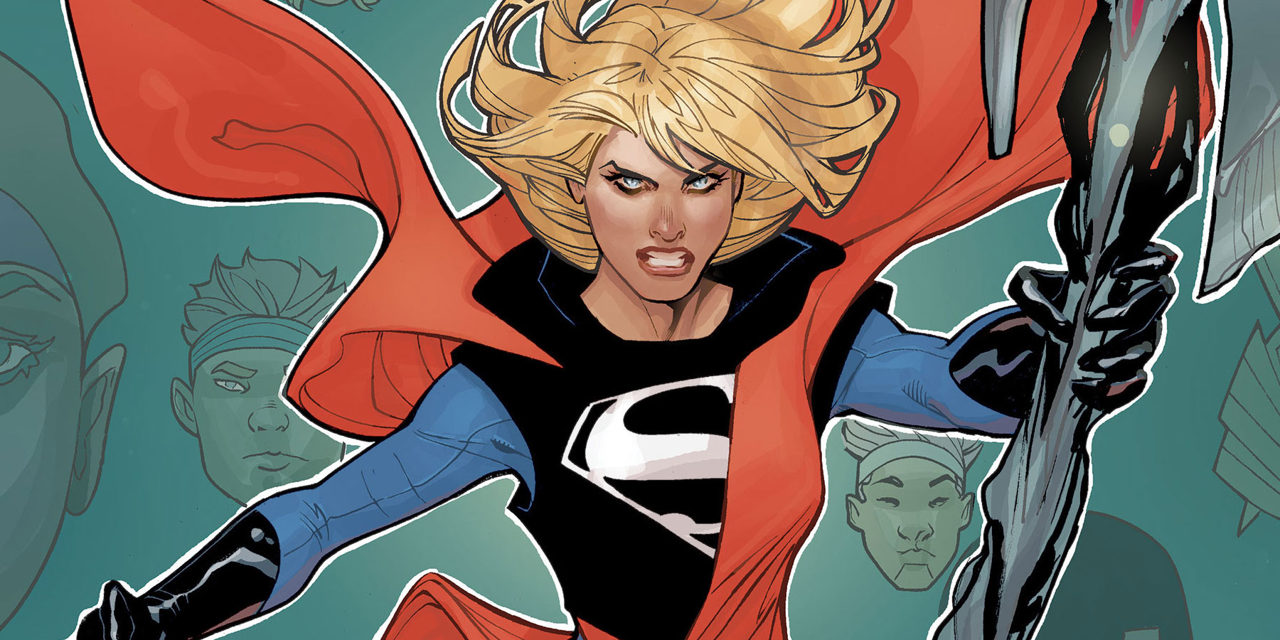 DC's Supergirl Returns With New Creative Team And Costume