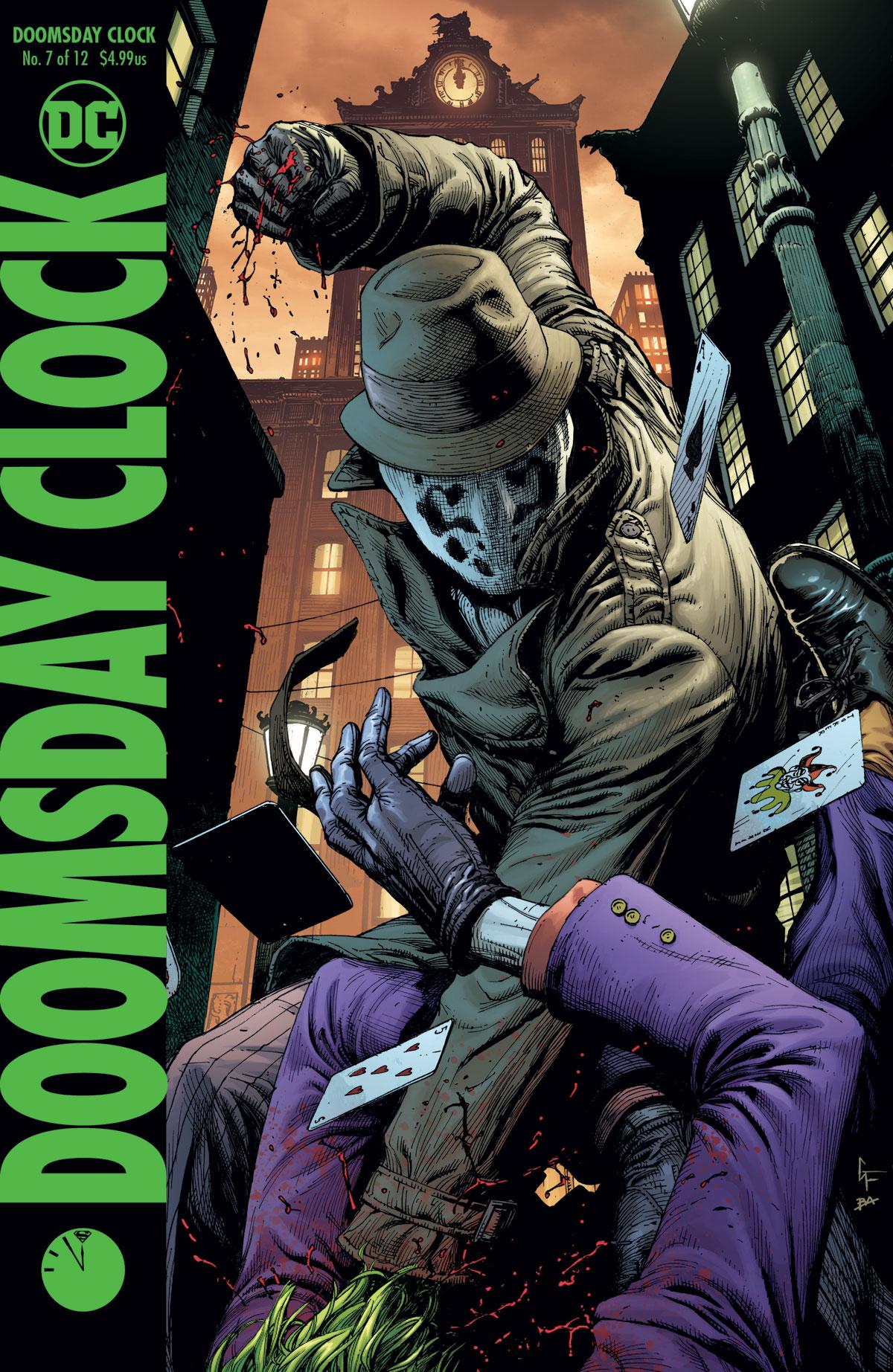 Doomsday Clock 7 Rorschach cover