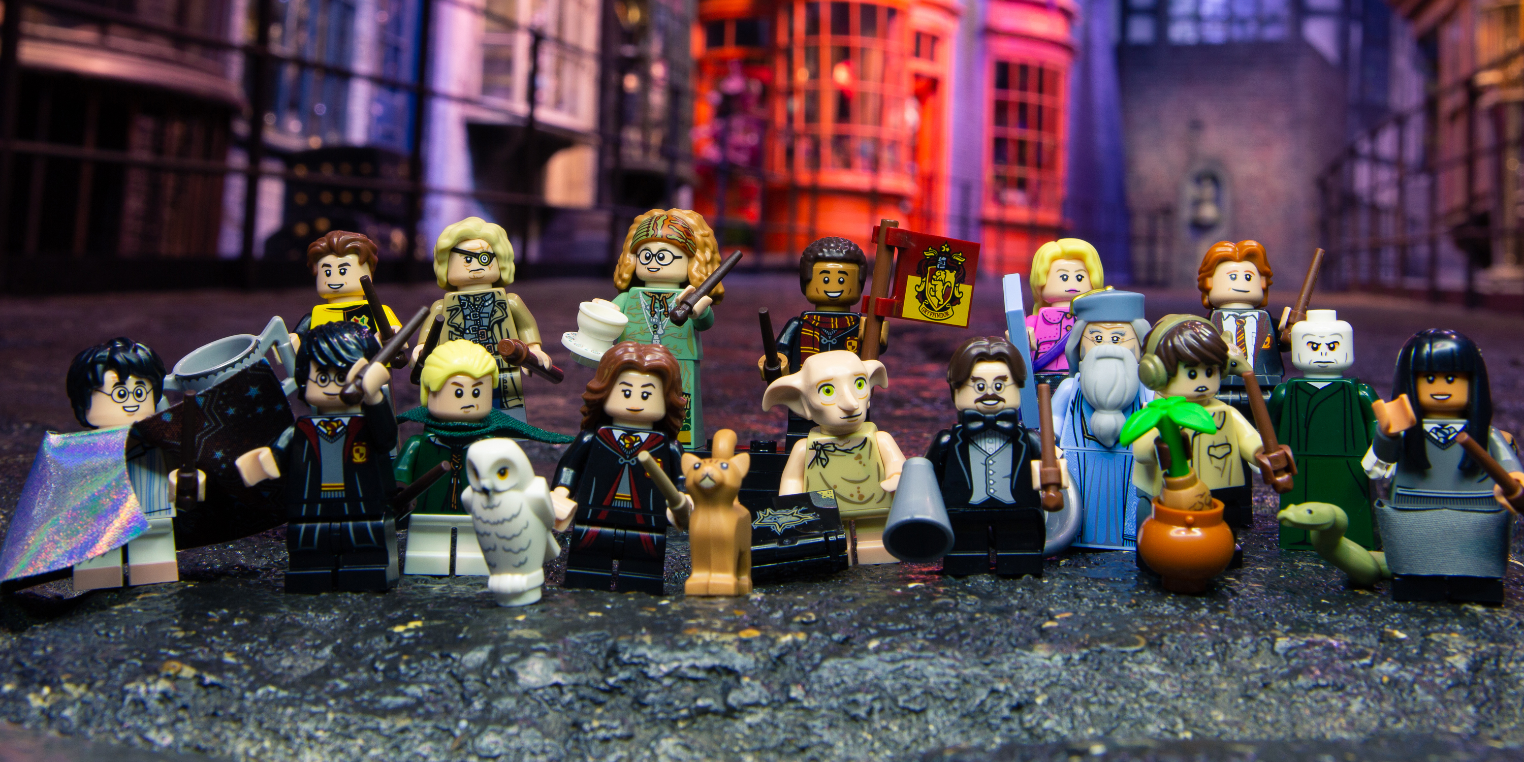 LEGO Announces Harry Potter & Fantastic Beasts Minifigure Blind ...