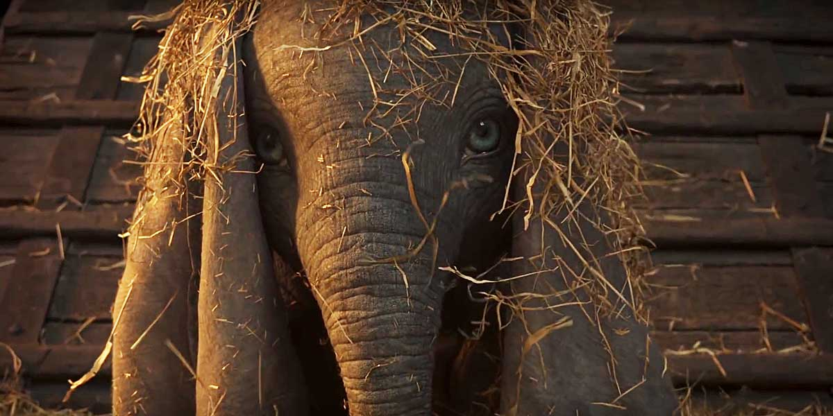 Dumbo Soars in Teaser Trailer For Tim Burton's Live-Action Remake