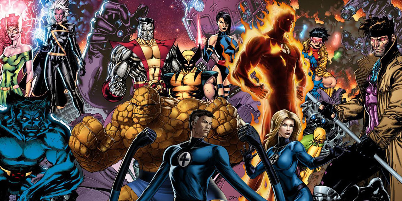 X-Men Fantastic Four