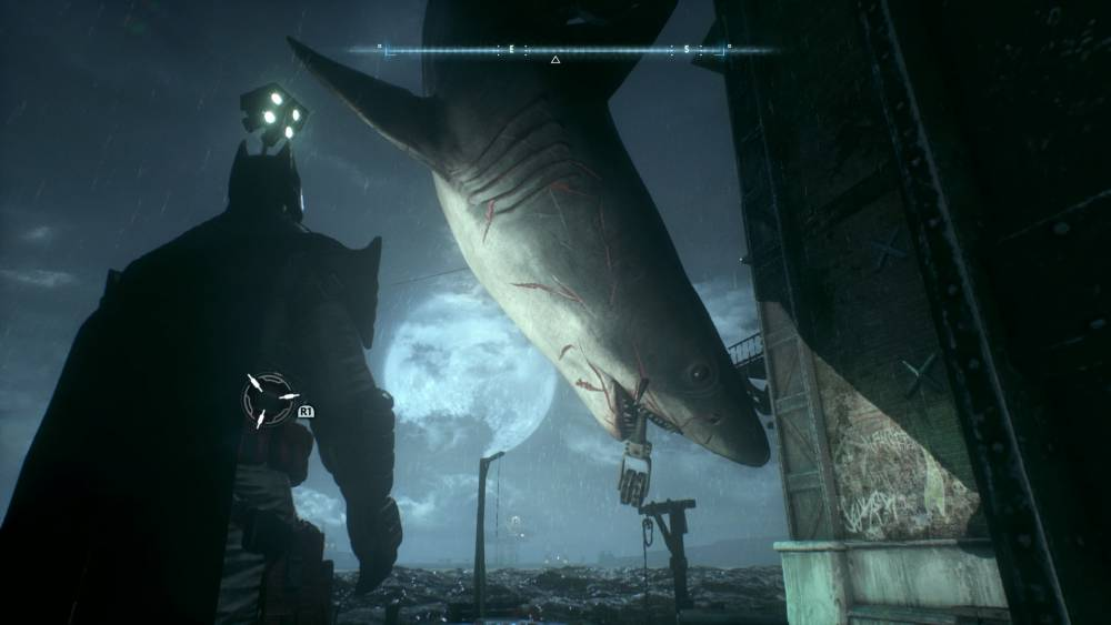 Batman Arkham Knight Tiny the Shark