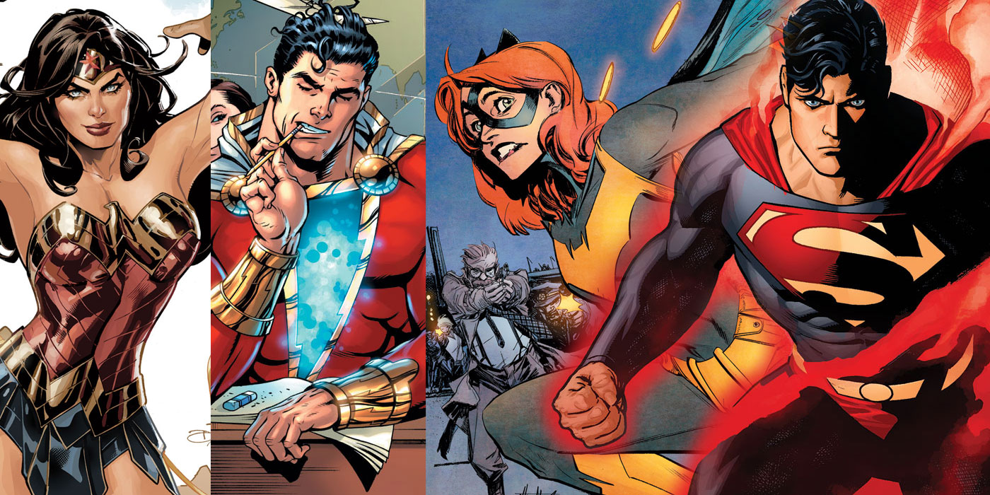 DC Comics' Complete Solicitations for November 2018