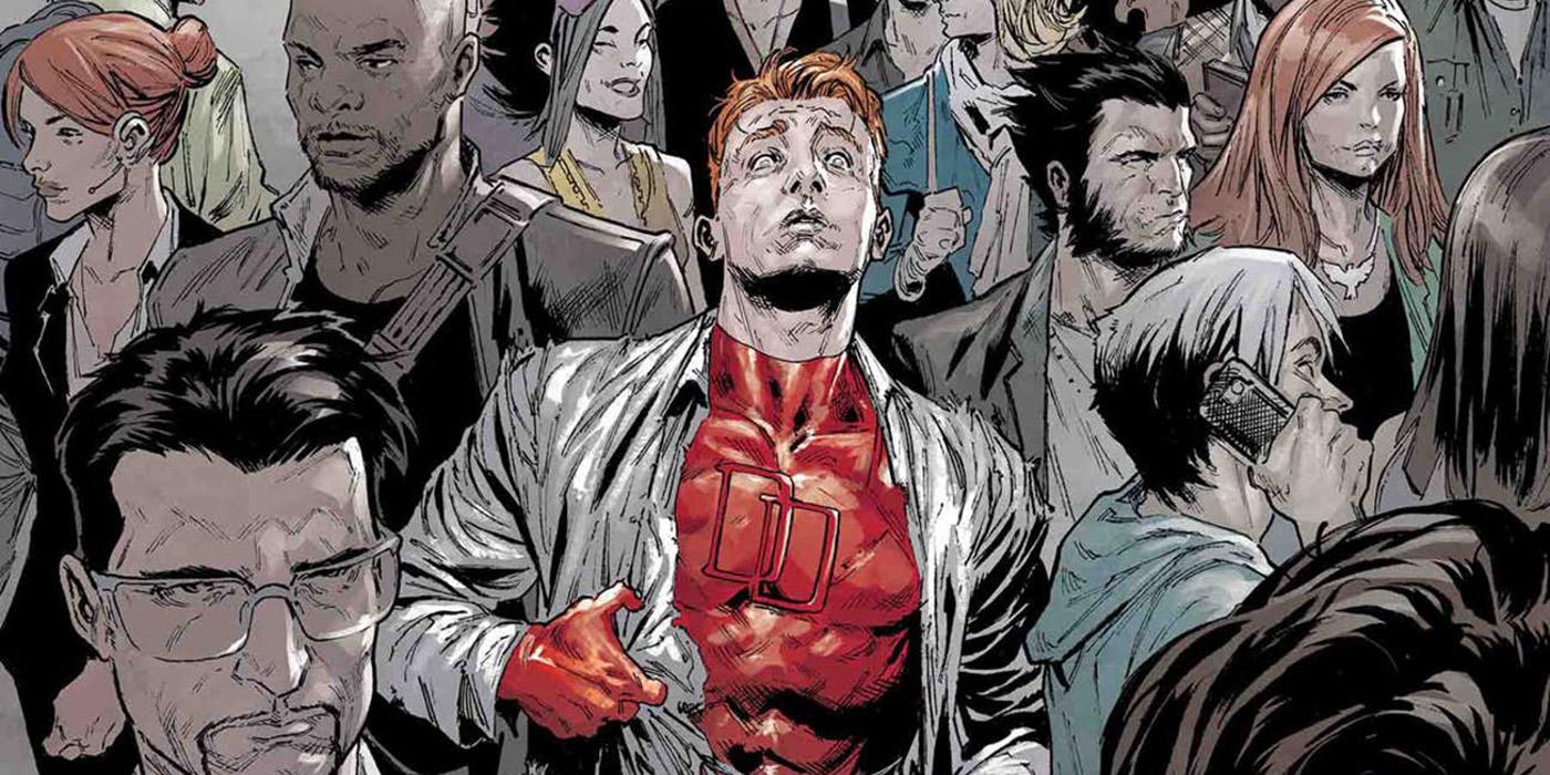 Matt Murdock Has Forgotten Daredevil in Marvel Knights #1