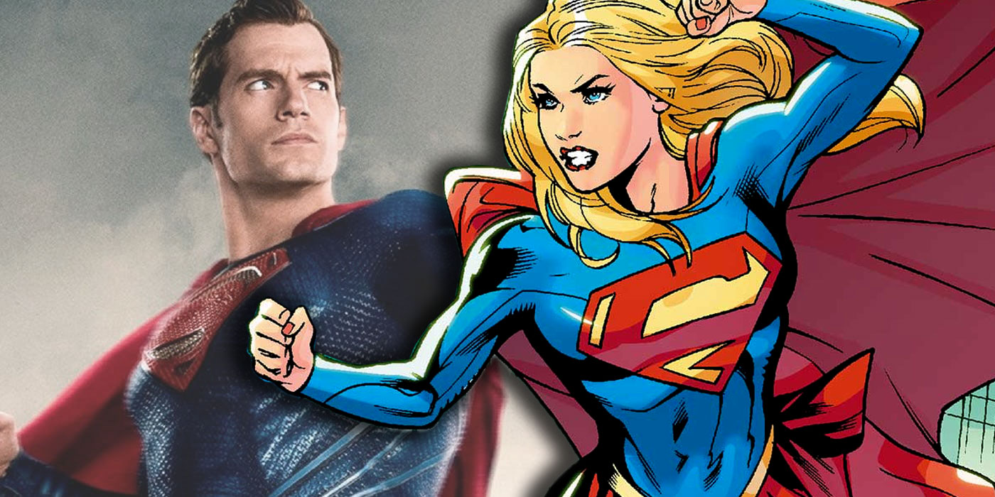 DC's Planned Supergirl Movie Should Be A Man Of Steel Spin-Off
