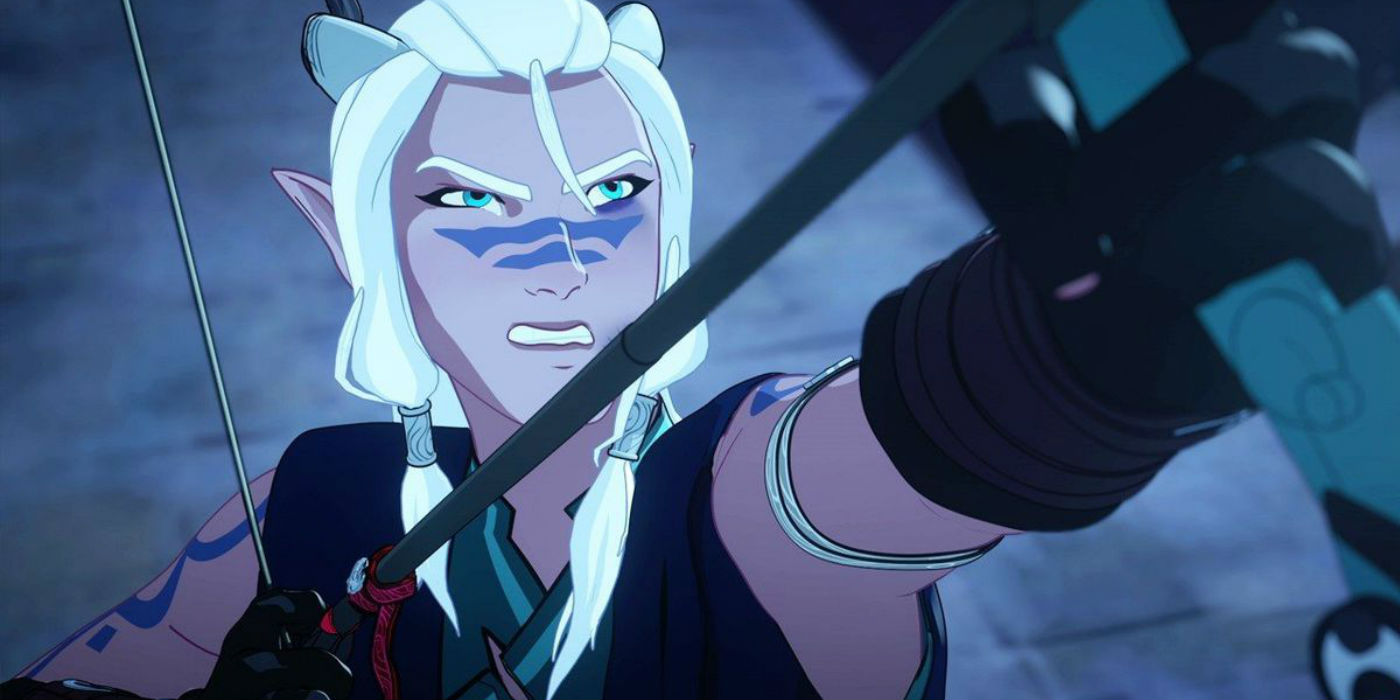 The dragon prince 2018 universe x Reader Lemon
