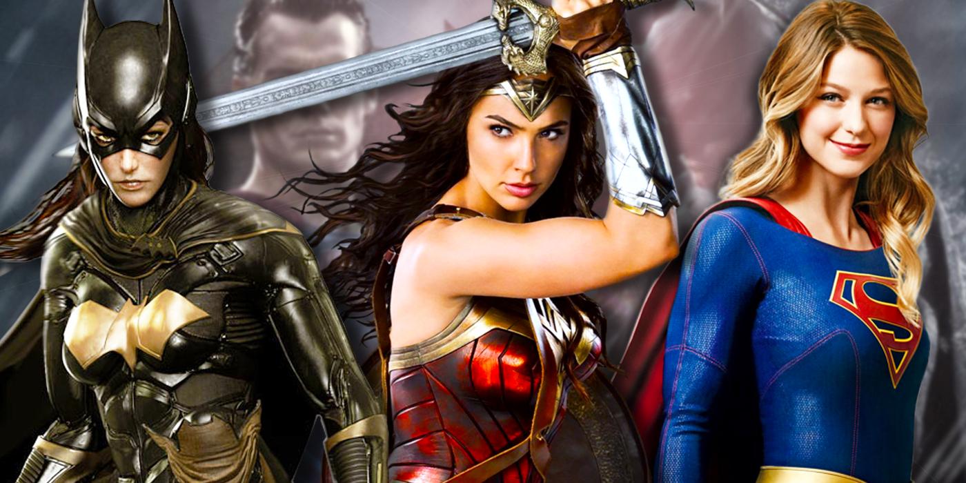 DCs Film Trinity Should Be Wonder Woman, Supergirl & Batgirl