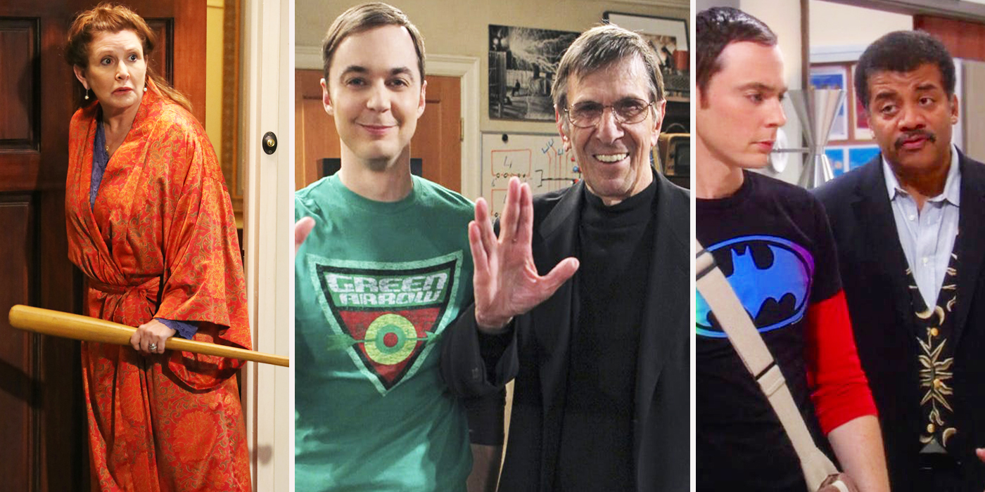 The Big Bang Theory: Every Cameo, Officially Ranked
