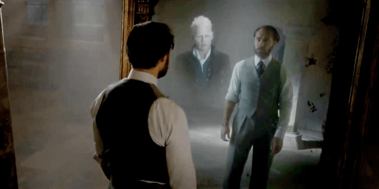 Mirror Of Erised Ii By Barbora TŐgel: Why The Mirror Of Erised Showed Dumbledore Gellert Grindelwald