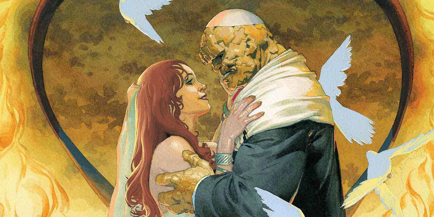 Marvel Celebrates Fantastic Four Wedding with Villain Variant Covers