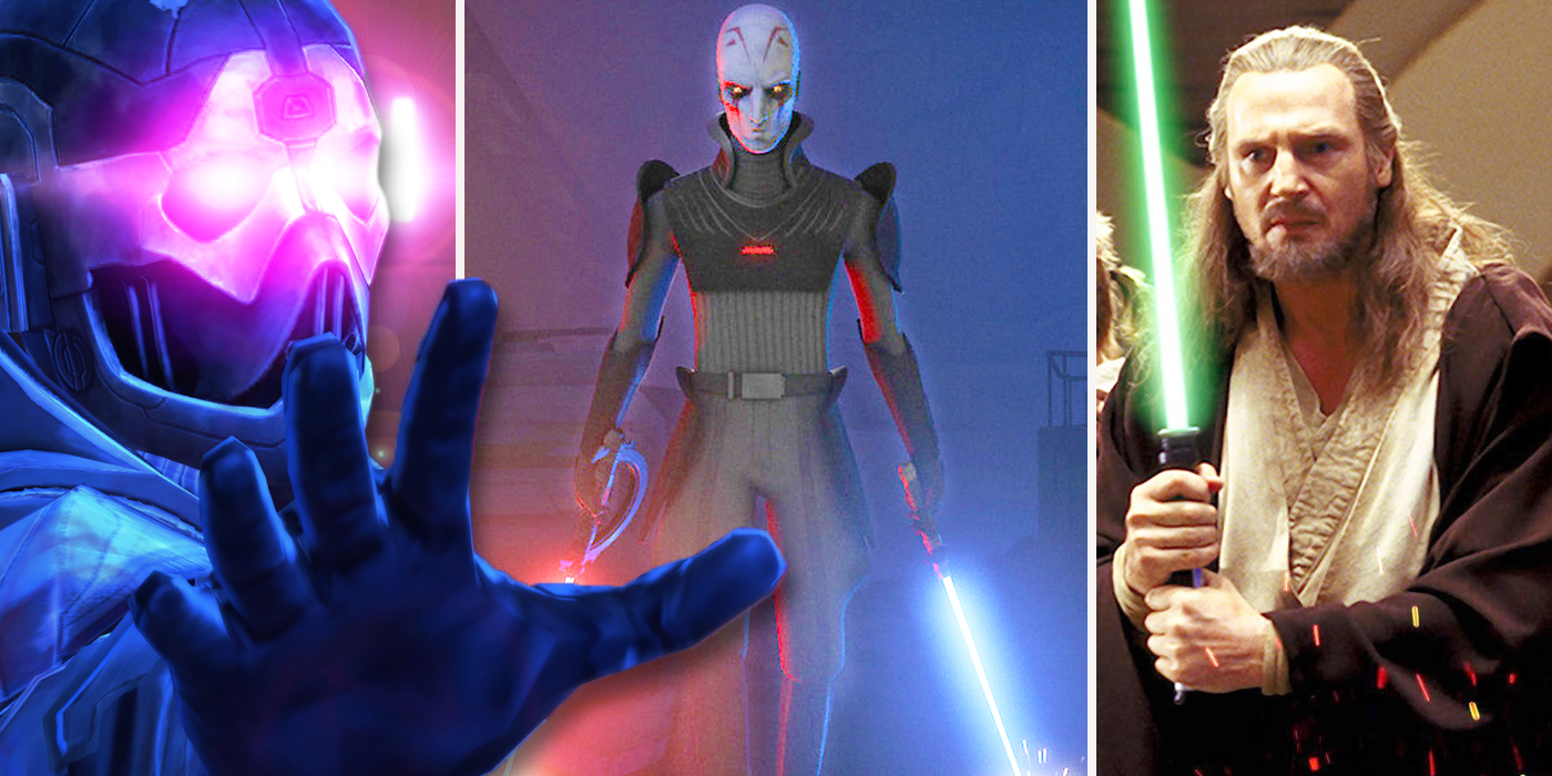 Star Wars: 10 Sith Lords (And 9 Jedi) Way More Powerful Than Darth Vader