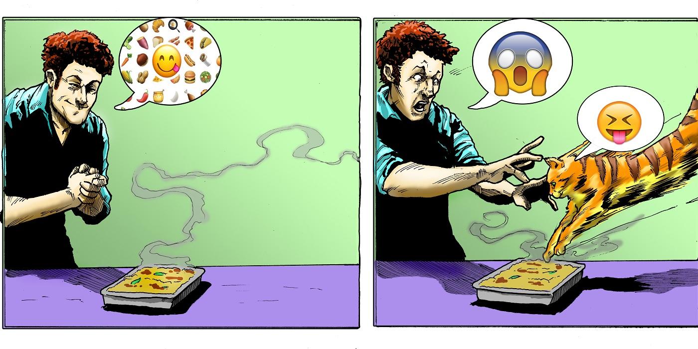 Line it is Drawn: Modernize a Comic Strip!