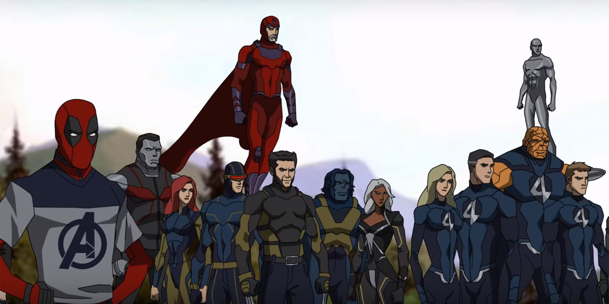 The X Men And Fantastic Four Star In Avengers 4 Animated