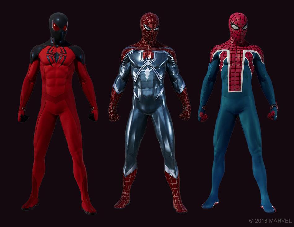 Spider-Man DLC Suits