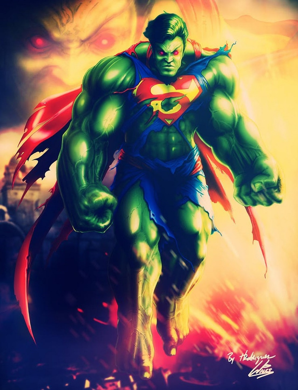 20 DC Heroes Fused With MCU Characters By Fans