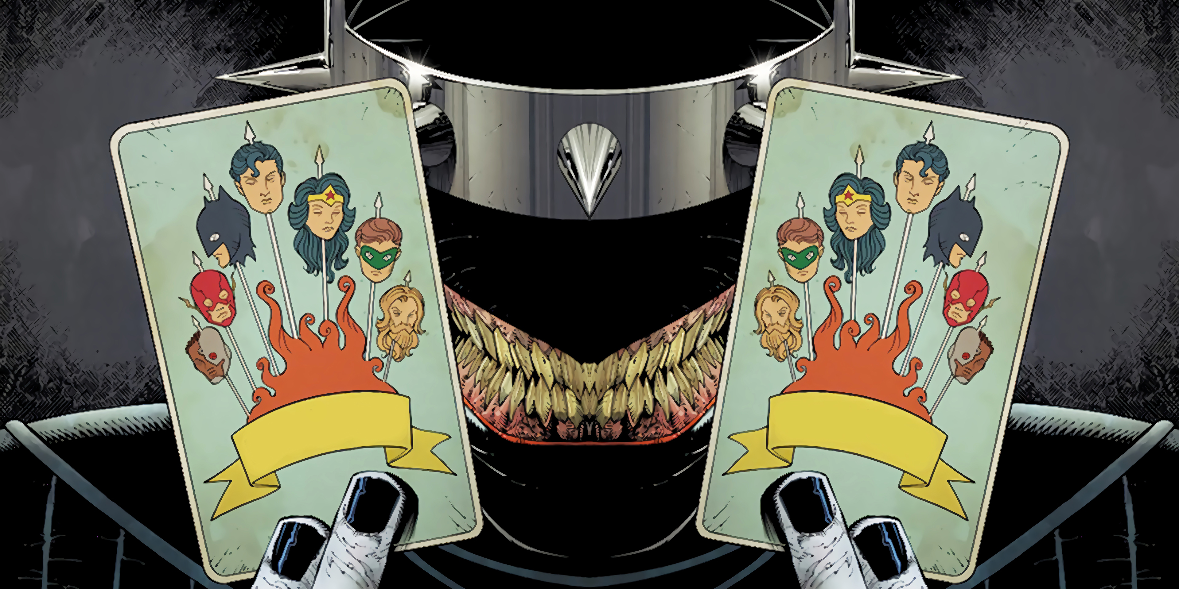 Greg Capullo Crafts a Chilling Cover for The Batman Who Laughs #1