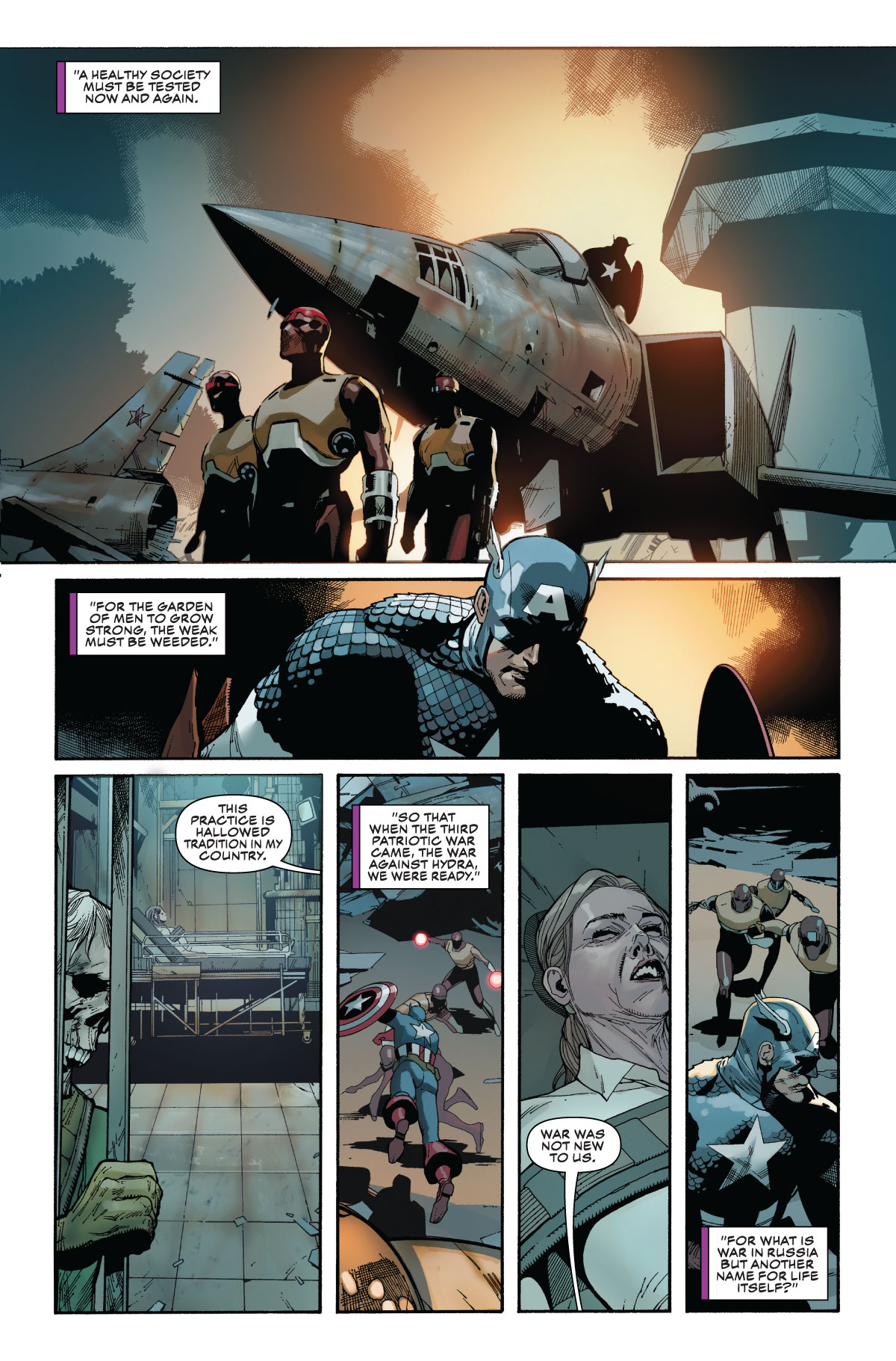EXCLUSIVE: Sharon Carter Is In Major Trouble in Captain America #4