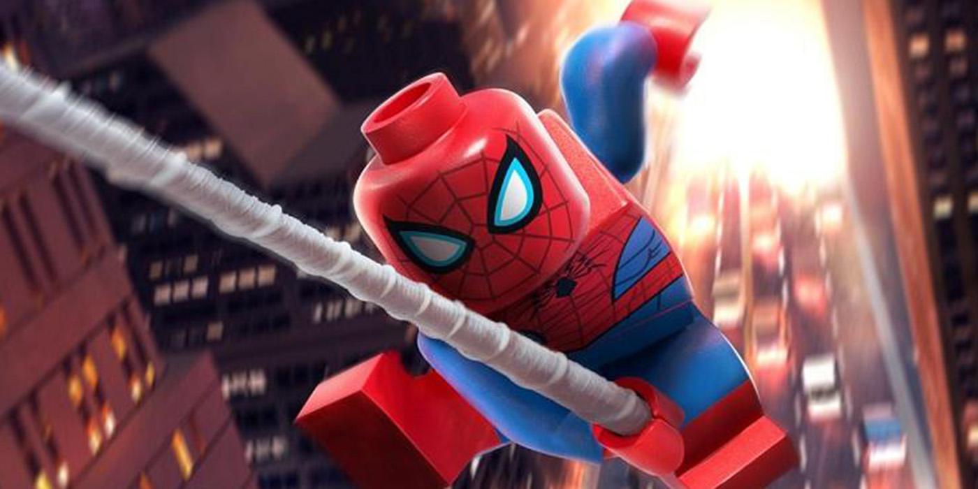 Znalezione obrazy dla zapytania spider man lego