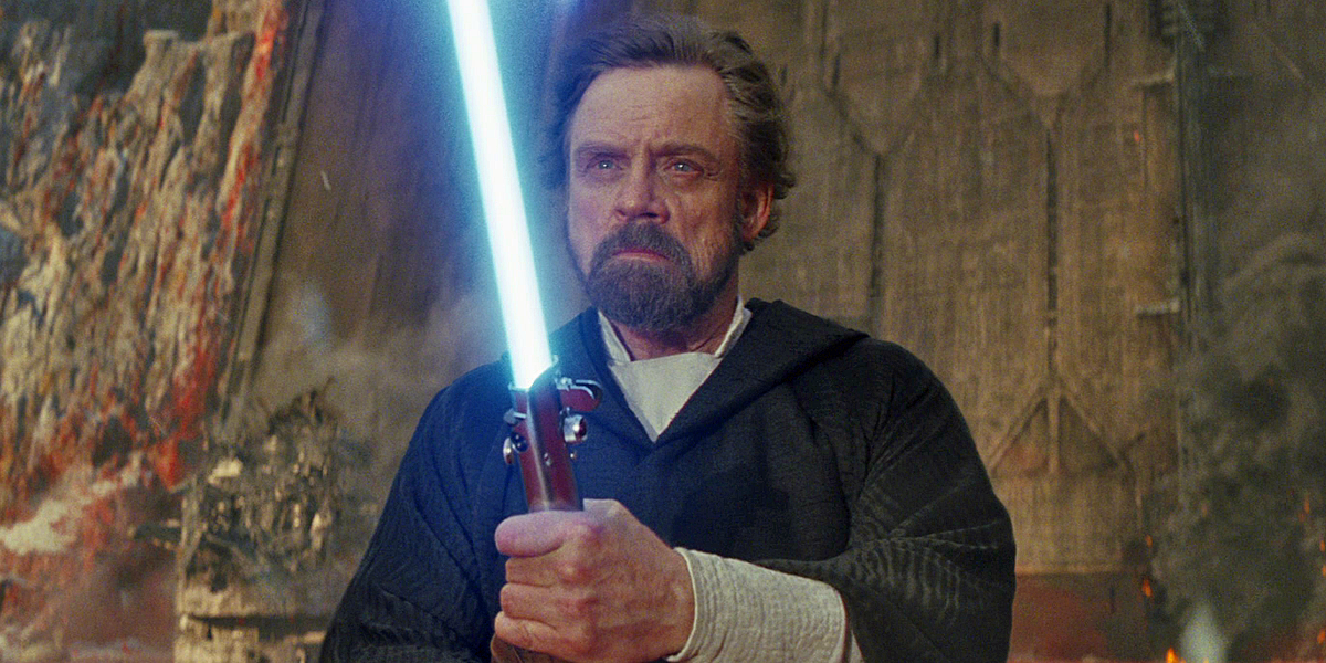 Mark Hamill Reveals a Controversial New Take on Luke's Death