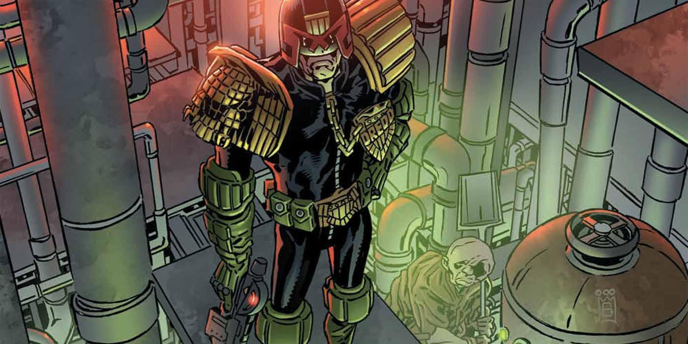 EXCLUSIVE PREVIEW: Judge Dredd: Toxic! #1