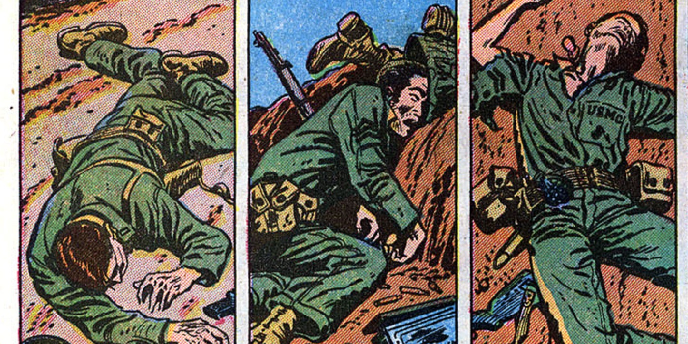 The Pre-Code Marvel War Story That Showed the True Horror of War