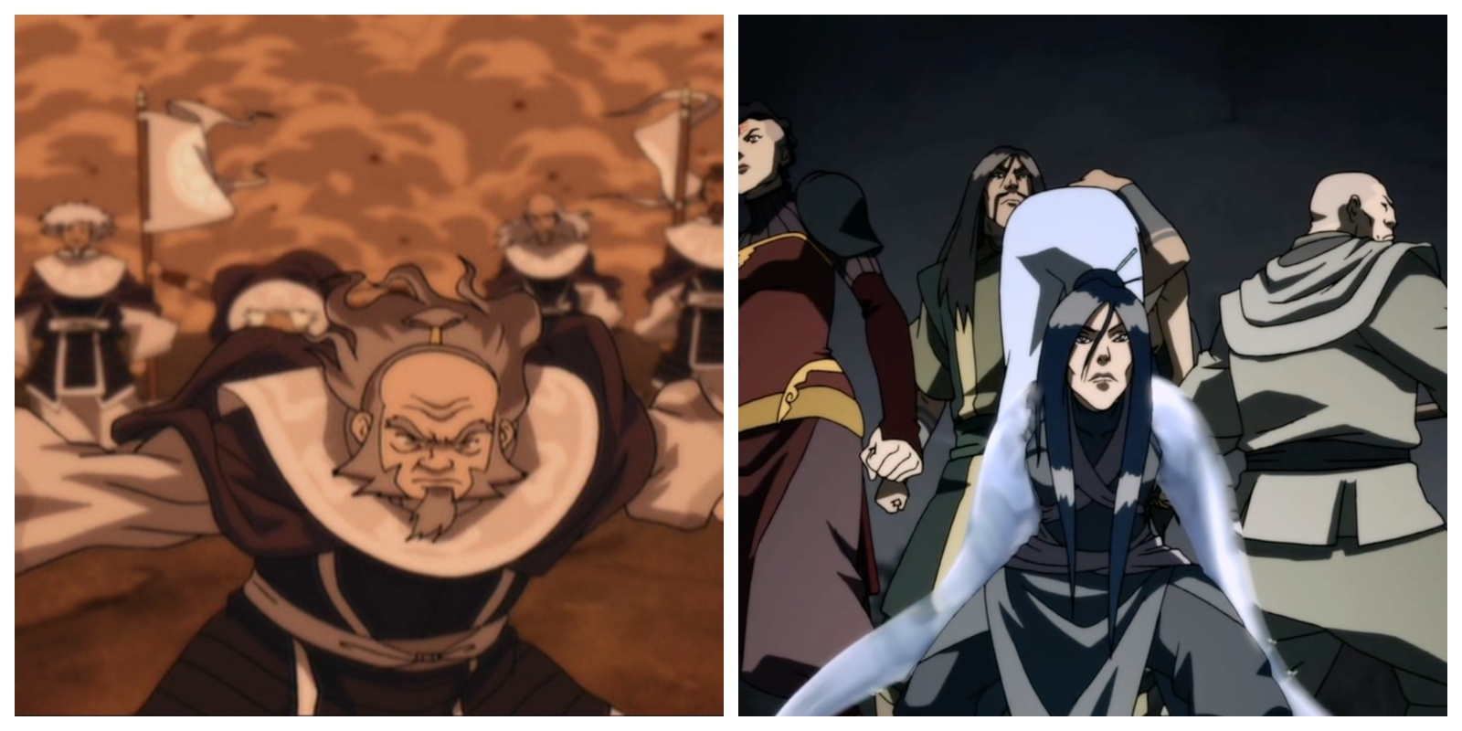 The White Lotus Vs The Red Lotus Which Avatar Team Had The Better Benders
