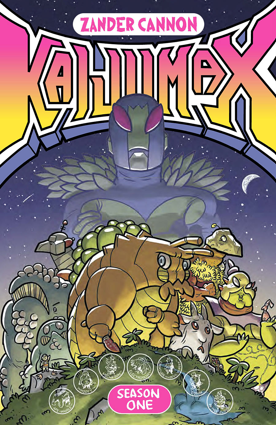 Image result for kaijumax vol 1