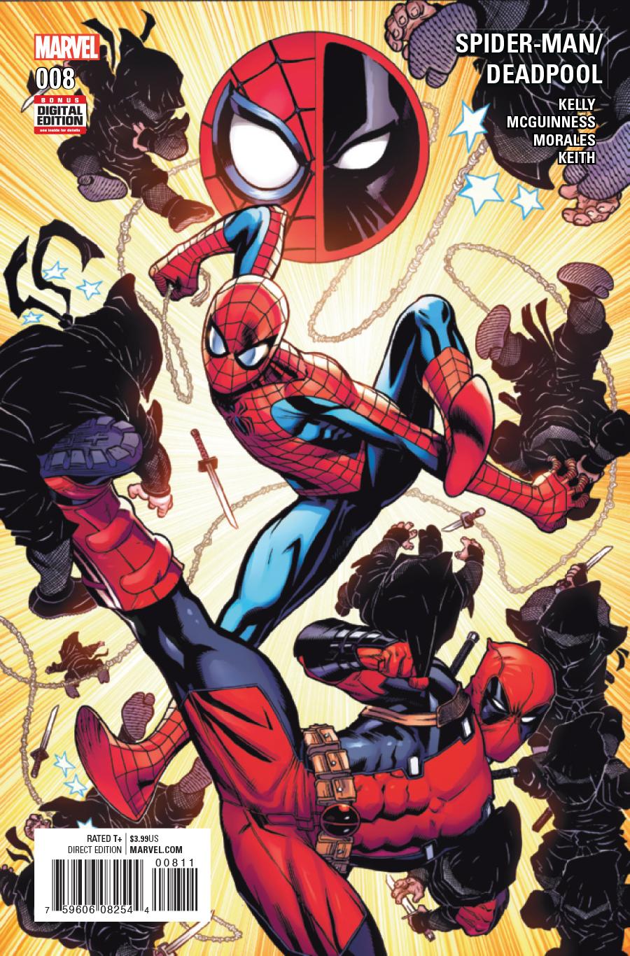 spider man deadpool 8 cbr