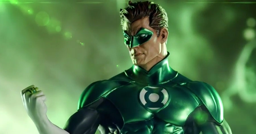 beware the power of this deluxe green lantern statue