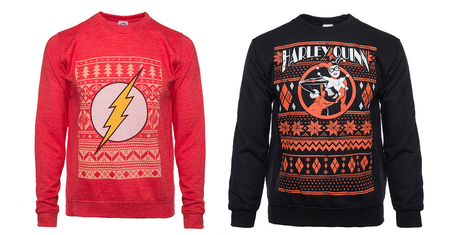 Warm up for the holidays with DC Comics & 'Star Wars' ugly sweaters