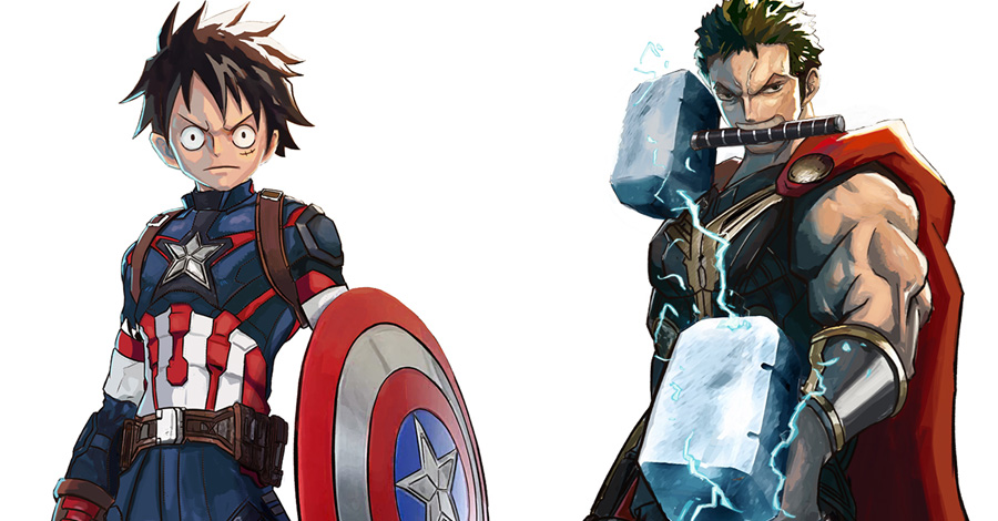 One Piece meets the Avengers in this Devil Fruit-fueled