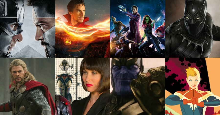Marvel movies by release date in Perth