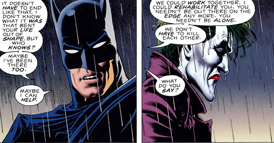Batman And Joker Face Off In First Animated Quot Killing Joke