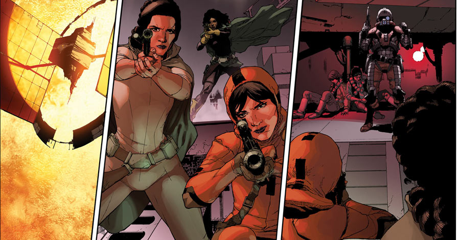 "New Marvel Art from ""Star Wars,"" ""Daredevil"" and More"
