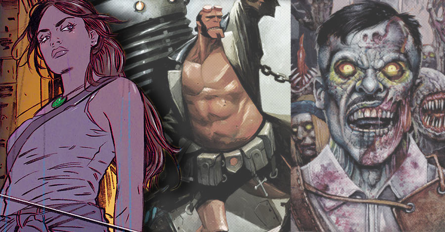 """Dark Horse October 2016 Solicitations: """"Call of Duty: Zombies,"""" """"Spell on Wheels"""" & More"""