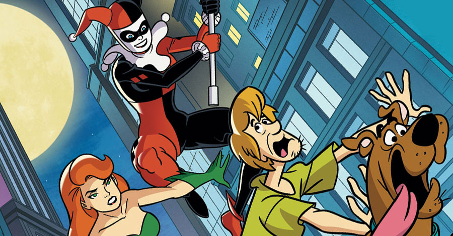 "Batman's ""True Fate"" Teased for September, Harley and Ivy Meet ""Scooby-Doo"""