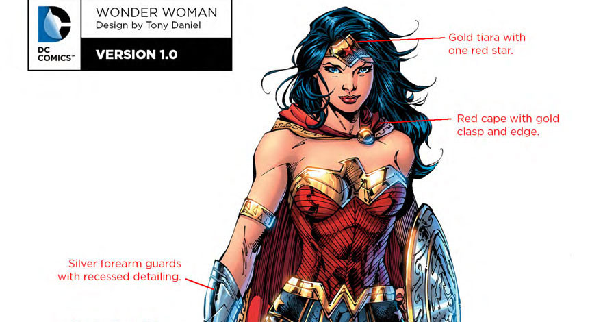 "DC Comics' ""Rebirth"" Character Designs for Batman, Wonder Woman and More"
