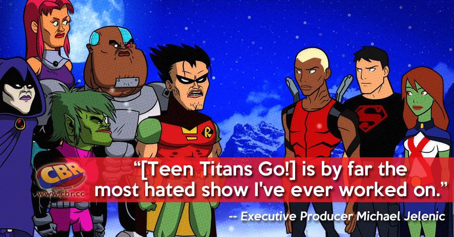 Teen Titans Go Serious Business
