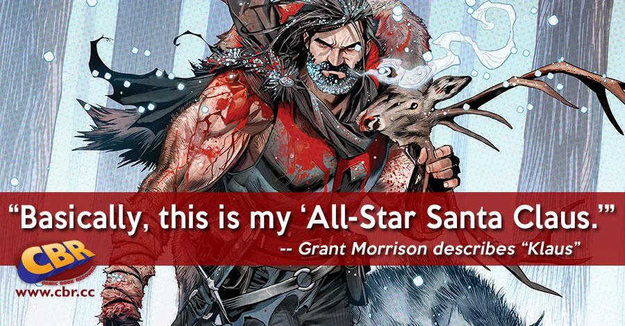 "Grant Morrison Tells 'Santa Claus: Year One' in ""Klaus"""