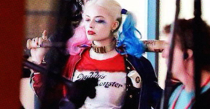 "New ""Suicide Squad"" Set Photo Offers Detailed Look At Harley Quinn"